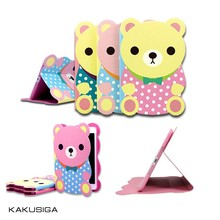 Newest Cartoon Bear for iPad mini Cute Animal Shape Case
