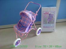 metal baby carriage