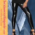 las mujeres sexy nueva llegada damas barato wet look leggings