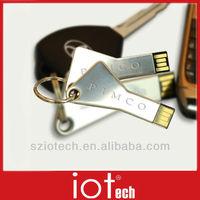 Key Style Laser Logo USB Pen Drive Memory