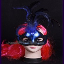WHM-070 Yiwu Caddyfashion party mask designs 2015 custom face female christmas masks