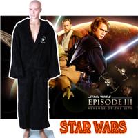 Jinhua factory directly star wars movie cosplay orange unique personalized fleece bathrobes