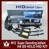 Hotselling!!!Universal HID Slim/ Thick Ballast 18 Months Warranty 12V AC 35W/55w With H4 Bixenon Hi/Lo Bulb HID Ballast Kit