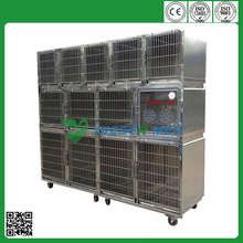 2015 hot sale best veterinary modular large steel dog cage