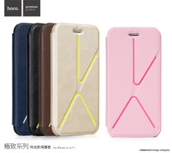 HOCO deformation stand protective leather case for iphone 6 6 plus