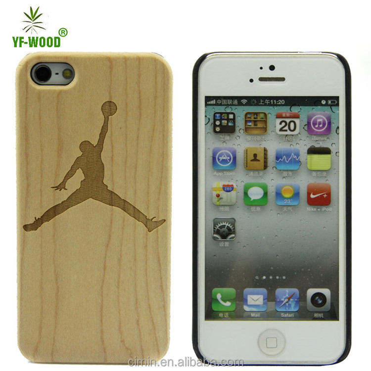 Wholesale Wood Mobile Phone Case For Iphone5 5s