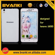 new arrived case cover for Lenovo s850 case Ultra Thin Crystal Clear Rubber Soft Case high quality new products wholesale price