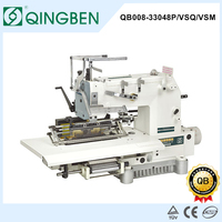 QB008-33048P/VSQ/VSM Multi needle sewings machines (33 Needle Single Elastic Shirring Smocking Sewing Machine siruba )