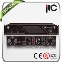 ITC TA Series 2 Channel 200W to 3200W Professional Power Amplifier for Conference Room sound system