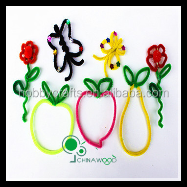 Craft Wire Pipe Cleaners Value Pack 200pcs 30cm length 10 Assorted Color
