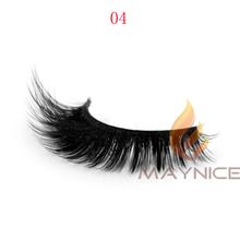 fake eyelash packing 3D synthetic eyelash, fiber false eyelash