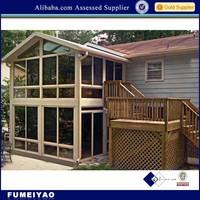 aluminium sunroom/glass room aluminium extrusion profile