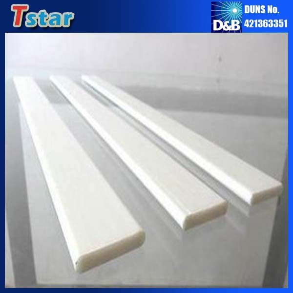 Plastic batten strips ceiling panels