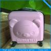 kid school trolley case/bag/abs luggage
