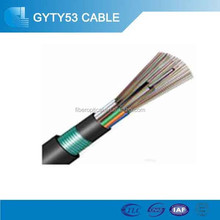GYTY53 32 core direct buried/ duct fiber optic cable for telecommunication