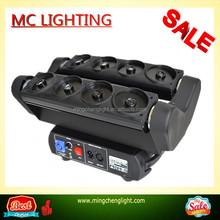 Wholesale RGB 8 Eyes Spider beam Laser light DJ equipment