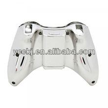 wireless controller shell for xBox360 in chrome color