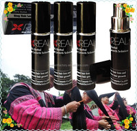 Global market hottest hair care anti hair loss treatment solution 100% herbal hair spray