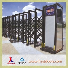High quality driveway electric safety garden retractable gate