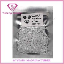 1mm 2mm 3mm Wax Setting Quality 8 Hearts 8 Arrows CZ/Cubic Zirconia