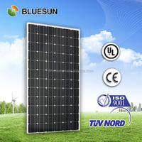 Bluesun top quality mono high voltage 240v solar panel