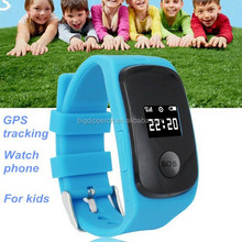 Wrist GPS tracking smart watch phone with gps tracker for kids
