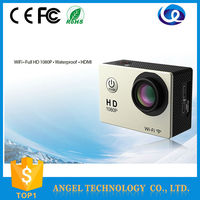 sport camera 1080P full hd action camera for camp outdoor