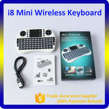 i8 Mini Wireless Keyboard, 2.4G Air Mouse for Android TV Box