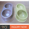Eco-friendly Bamboo Fiber Pet Water Dishes