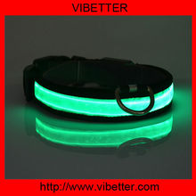 2015 Best Pet Puppy Items Promotion LED Dog Collar Cheap Price