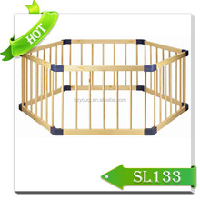 New top sale/baby play yard/ baby safety play wooden fence