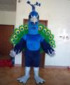 Pavo real de la mascota del traje para adultos traje de pavo real