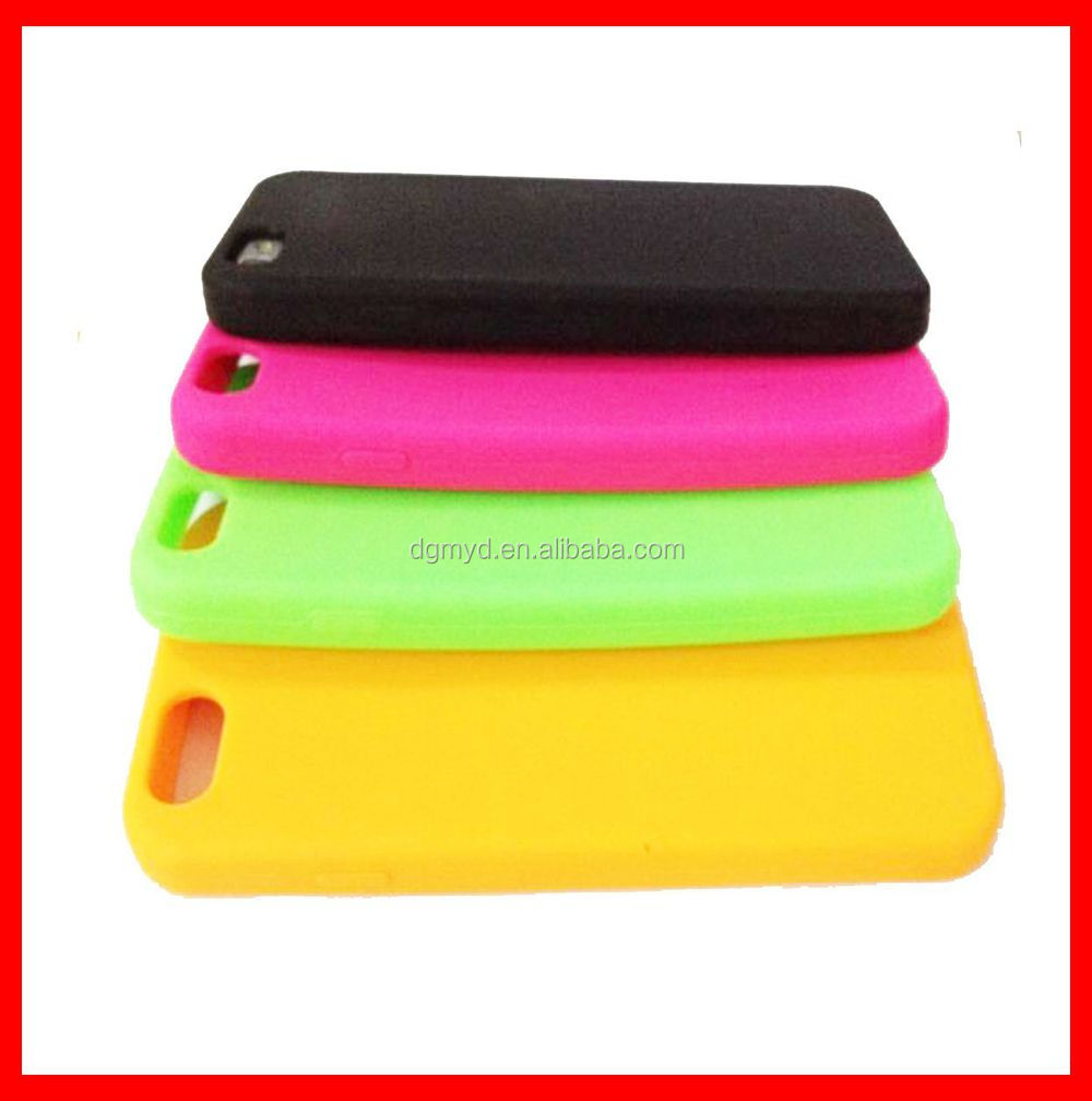 Manufacturer custom silicone cell phone case for iphone 6 case plus