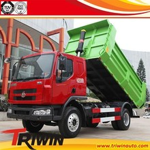 EURO 2 3 4 LZ3121M3AA 130hp 4x2 6 wheel dongfeng 4t 5t 6t 8 ton dump size