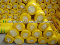 Acoustic glass wool blanket insulation building materials