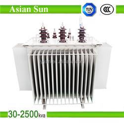 11kV 630kVA Three Phase Copper Winding Distribution Oil Immersed Transformer