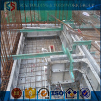 Tianjin SS Group Supplier Hot sale Lightweight concrete aluminum formwork shoring /modular /system for slab