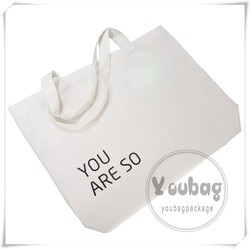 China Manufacturer recyclable shopping cotton bag