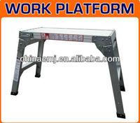 Aluminium Step Up Work Workstand Hop Bench Stool Platform Painting Ladder NEW