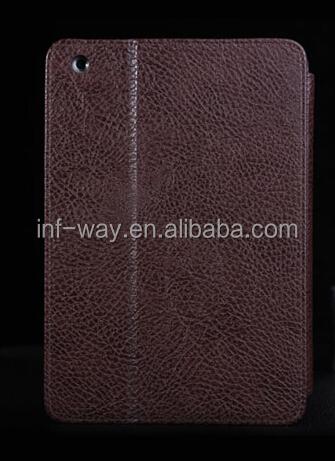 Auto sleep wake function pu leather case For ipad mini 2
