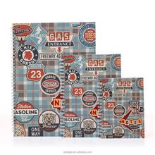 A4 escola papel de capa caderno espiral