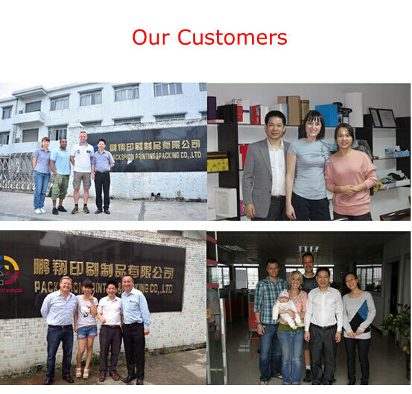 Alibaba China Customized different types Prined Paper Packaging Box
