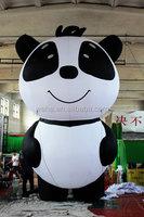 customized inflatable panda/ inflatable panda for advertising/ inflatable advertising panda balloon