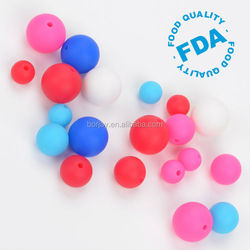 Top Quality Non-toxic BPA Free Silicone Beads Wholesale In China