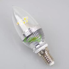 2835 chips 5W led candle light E12 E14 with excellent quality