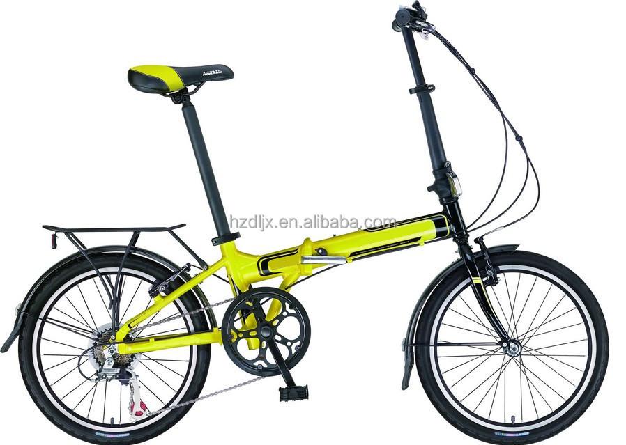 ใหม่2015ฟิวชั่นแสงที่มีขนาดกะทัดรัดพับจักรยานไฮบริดสีขาวmtb- 24ความเร็ว