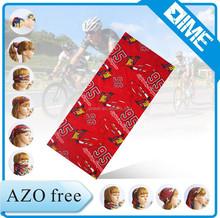 Cheerleading Hair Accessories Uv Mask Kids Microfiber Custom Printing Bandana