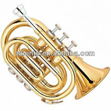 Standard Gold lacquer entry model hand Trumpet