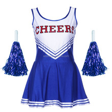 2015 new design fancy dress sexy cheerleader costume for women BWG8152