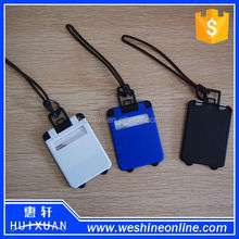 Plastic Luggage Tag with Strap / Airline Baggage Tag